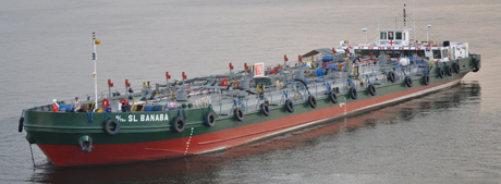 Self Propelled Oil Carrier Tanker